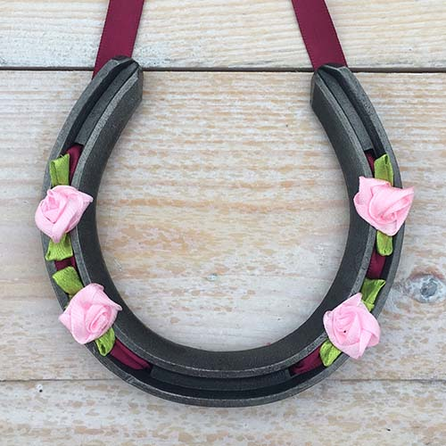 Bridesmaid horseshoe gift
