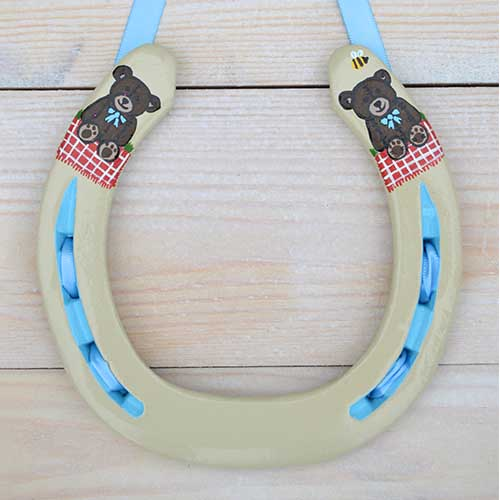 Teddy Bears Horseshoe Gift